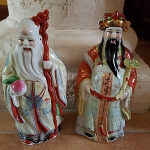 Chinese porcelain wise men